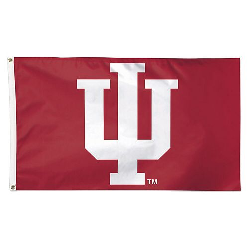 WinCraft Indiana Hoosiers Deluxe 3' x 5' One-Sided Flag