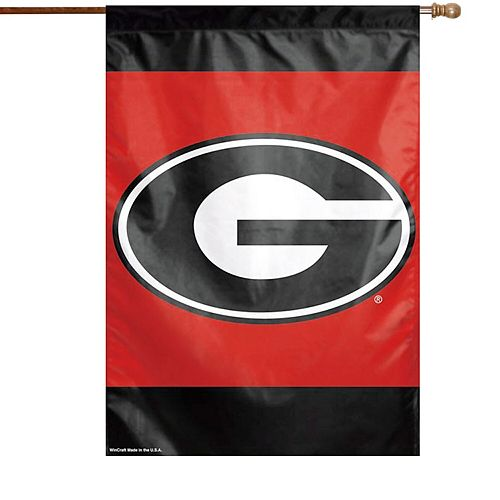 """Georgia Bulldogs WinCraft 28"""" x 40"""" Double-Sided Banner Flag"""
