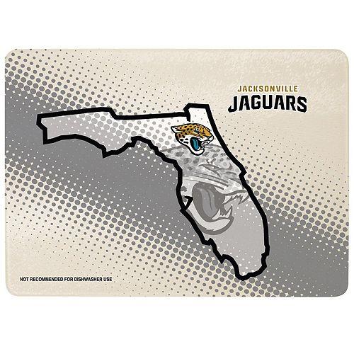 "Jacksonville Jaguars 8"" x 11.75"" State of Mind Cutting board"