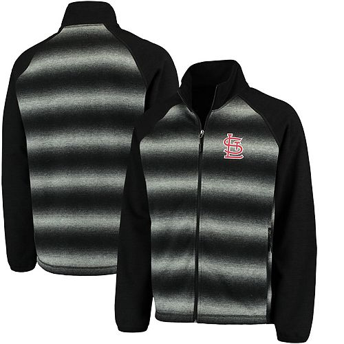 Men's G-III Sports by Carl Banks Black St. Louis Cardinals Discovery Full-Zip Jacket