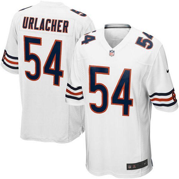 Mens Chicago Bears Brian Urlacher Nike White Game Jersey