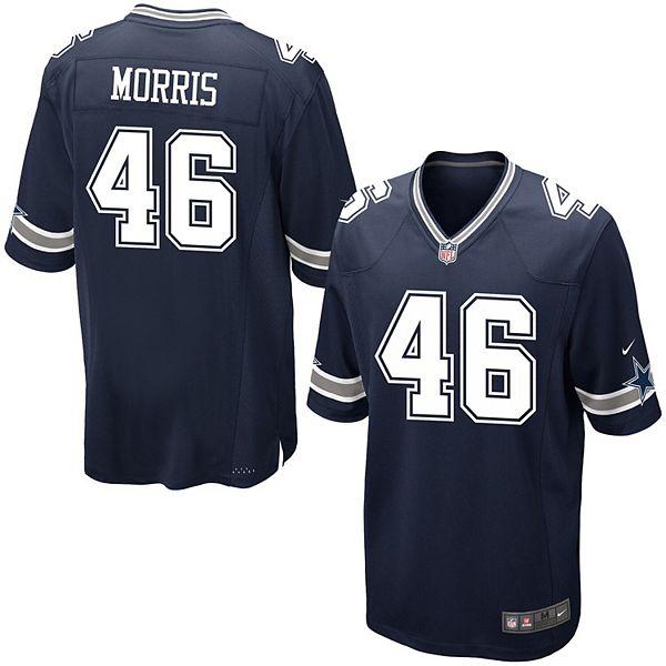 Men's Nike Alfred Morris Navy Dallas Cowboys Game Jersey