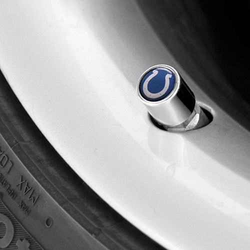 Indianapolis Colts Valve Stem Covers