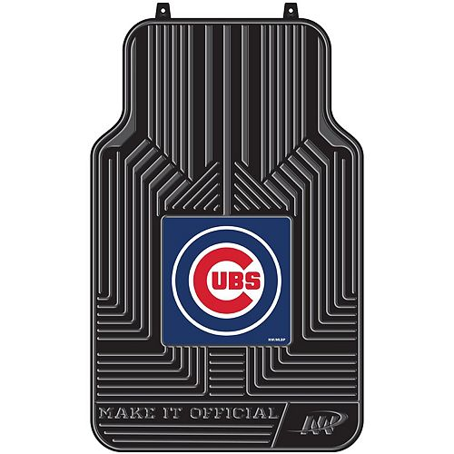 The Northwest Company Chicago Cubs 2-Piece Front Floor Car Mats
