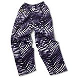 Baltimore Ravens Zubaz Pants - Purple/Black