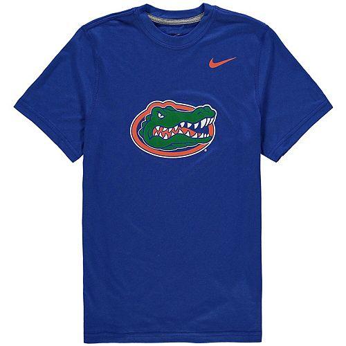 Youth Nike Royal Florida Gators Logo Legend Dri-FIT T-Shirt