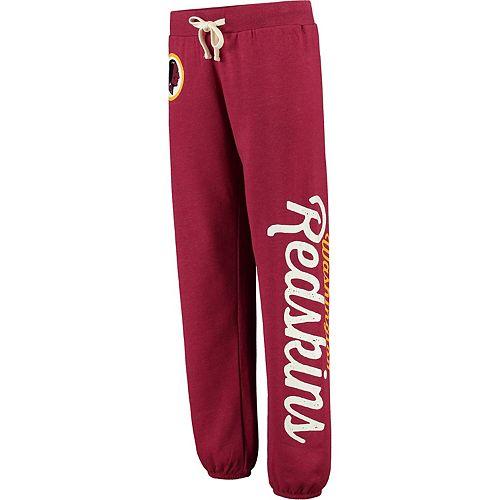 Women's G-III 4Her by Carl Banks Burgundy Washington Redskins Scrimmage Fleece Pants