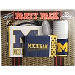Michigan Wolverines Game Day Party Pack