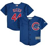 Preschool Majestic Anthony Rizzo Royal Chicago Cubs Alternate Official Cool Base Player Jersey