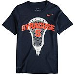 Youth Nike Navy Syracuse Orange Lacrosse Performance T-Shirt