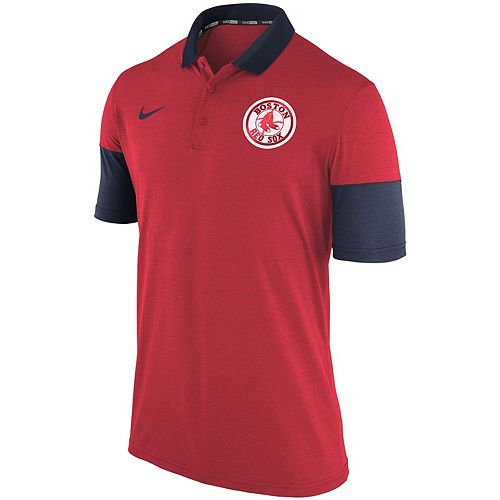 Men's Nike Red Boston Red Sox Polo