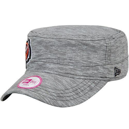 Women's New Era Gray Cincinnati Bengals Team Mist Military Hat