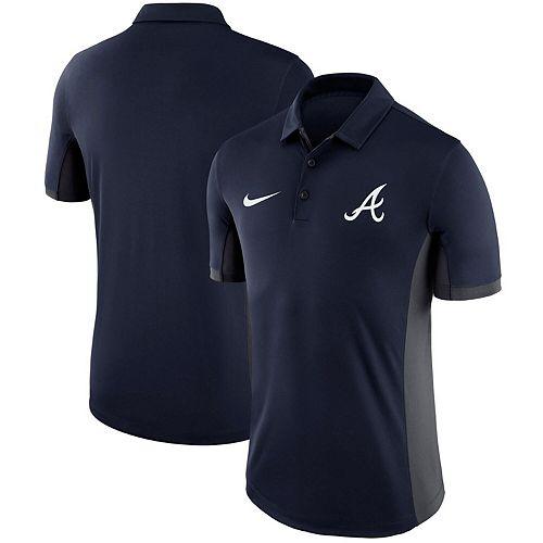Men's Nike Navy Atlanta Braves Franchise Performance Polo