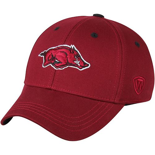 Top of the World Arkansas Razorbacks Youth The Rookie 1Fit Flex Hat - Cardinal