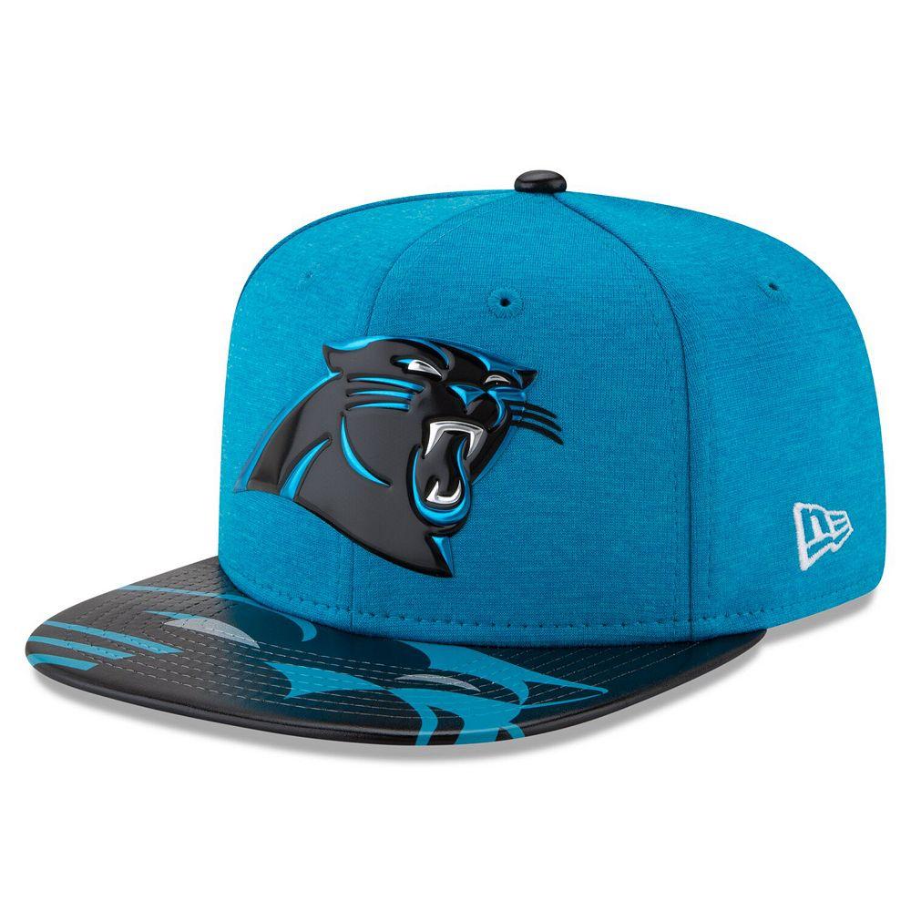 Men's New Era Blue Carolina Panthers 2017 NFL Draft On Stage Original Fit 9FIFTY Snapback Adjustable Hat