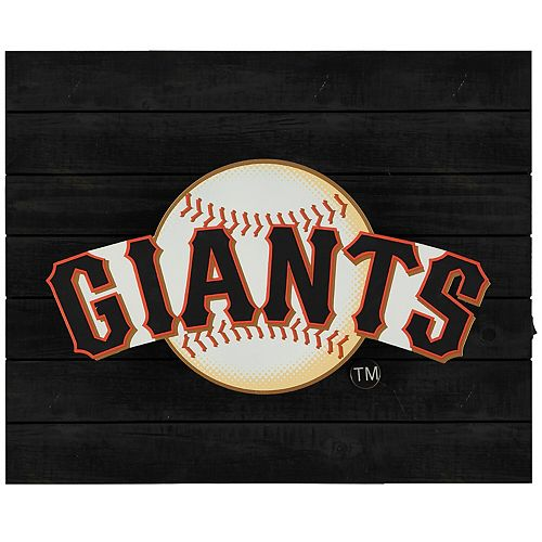 "San Francisco Giants 15"" x 18"" Lit Wall Decor"