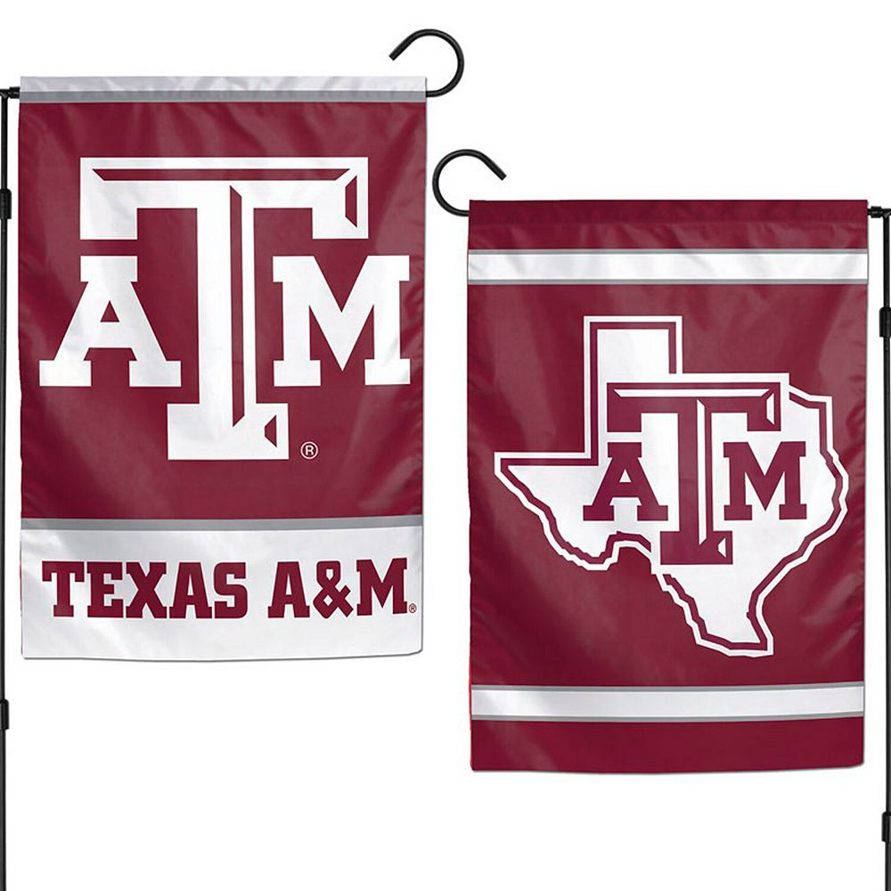 "WinCraft Texas A&M Aggies 12"" x 18"" Double-Sided Garden Flag"