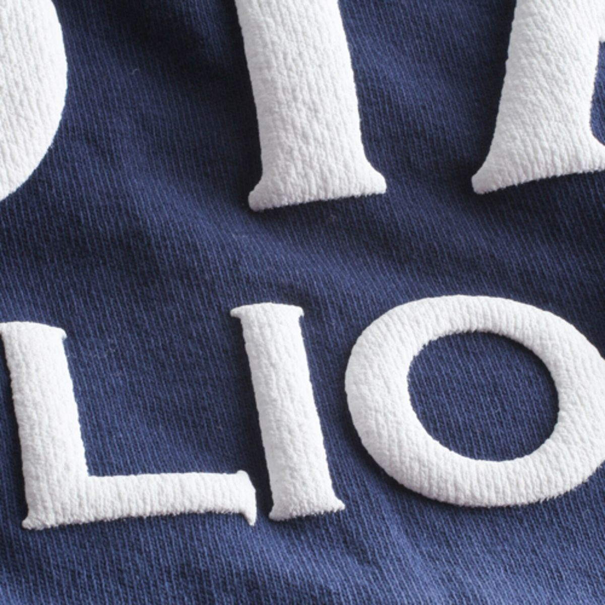 Women's Navy Penn State Nittany Lions Ombre Long Sleeve Dip-Dyed Spirit Jersey wng87