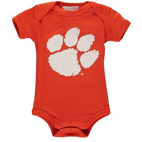 Infant Orange Clemson Tigers Big Logo Bodysuit