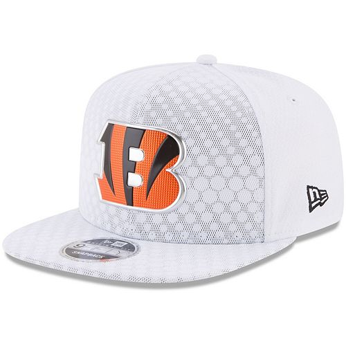 Youth New Era White Cincinnati Bengals 2017 Color Rush 9FIFTY Snapback Adjustable Hat