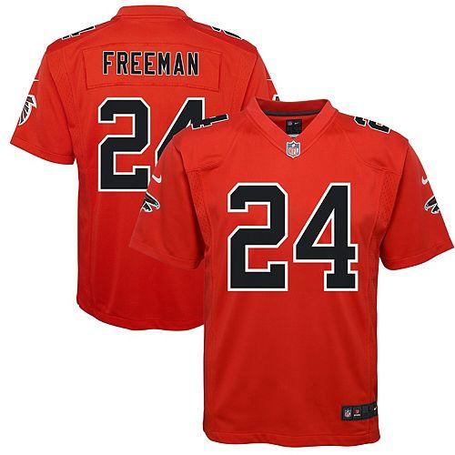 Youth Nike Devonta Freeman Red Atlanta Falcons Color Rush Game Jersey