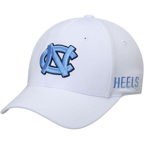 Men's Top of the World White North Carolina Tar Heels Choice Flex Hat