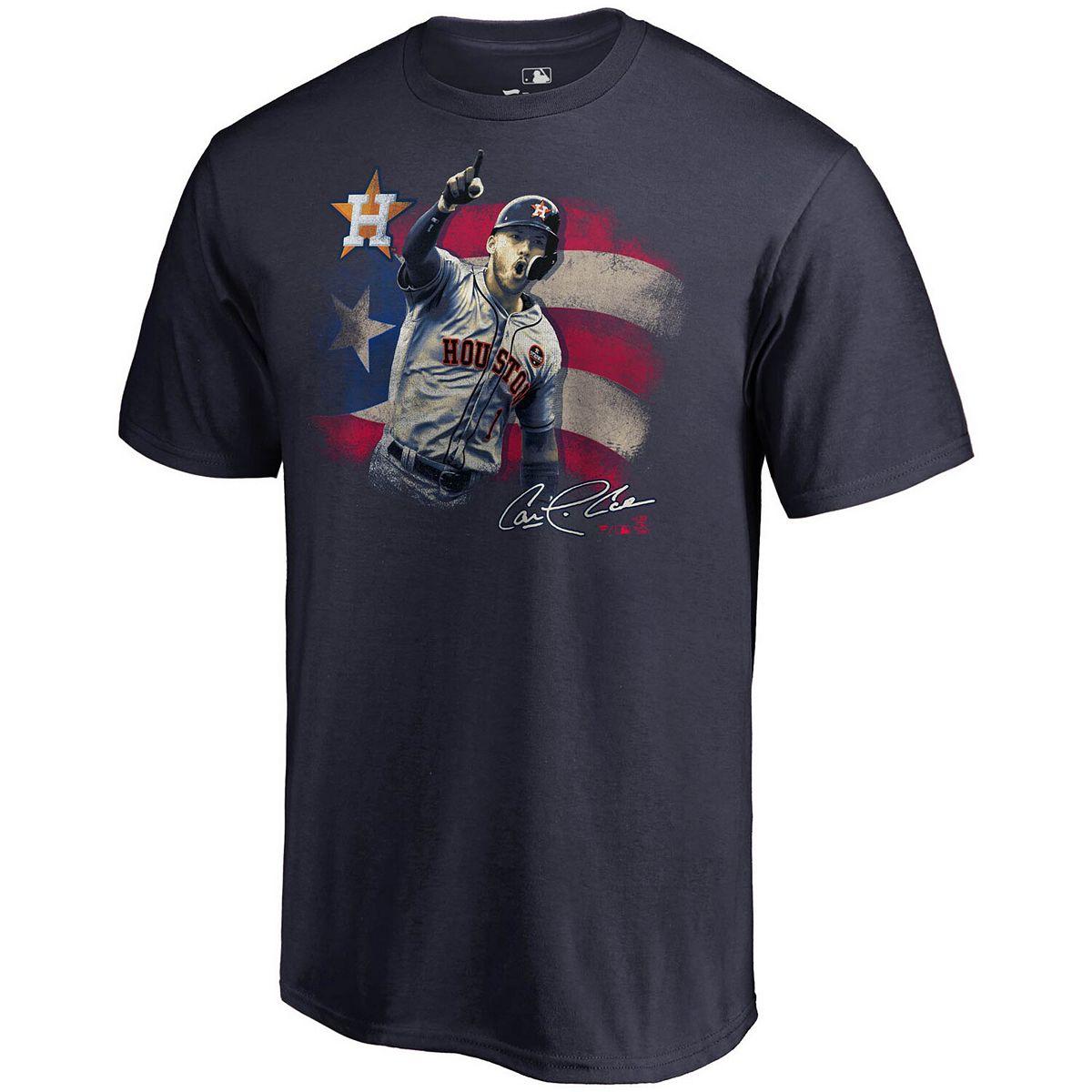 Men's Fanatics Branded Carlos Correa Navy Houston Astros Hometown Collection T-Shirt 1h2Xi