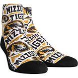 Men's Missouri Tigers Logo Sketch Quarter-Length Socks