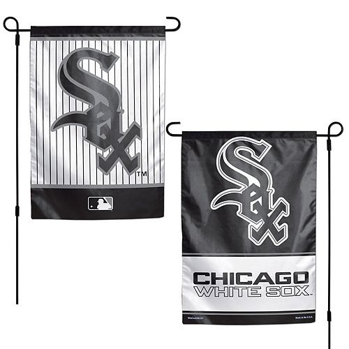 """WinCraft Chicago White Sox 12"""" x 18"""" Double-Sided Garden Flag"""