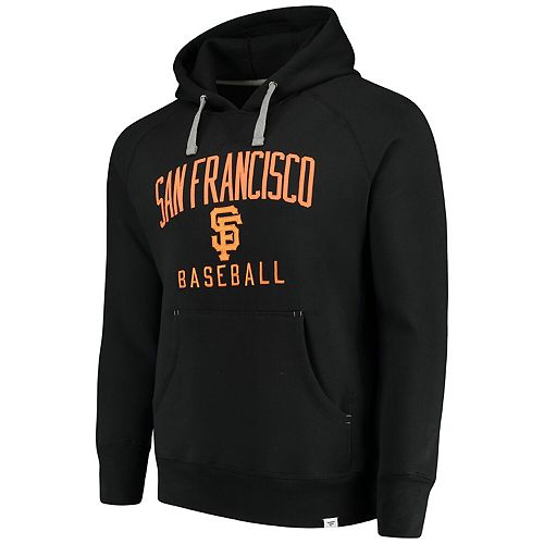 Men's Fanatics Branded Black San Francisco Giants Indestructible Pullover Hoodie