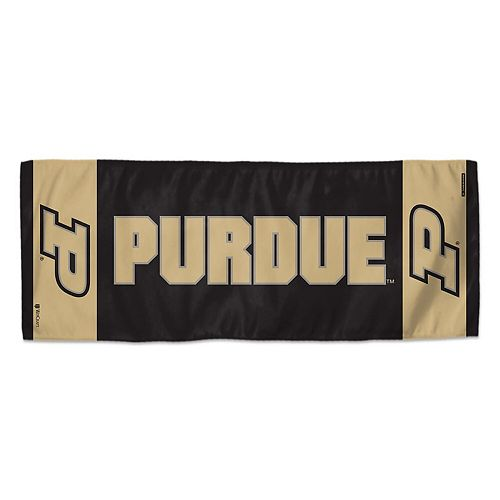 "WinCraft Purdue Boilermakers 12"" x 30"" Primary Double-Sided Cooling Towel"