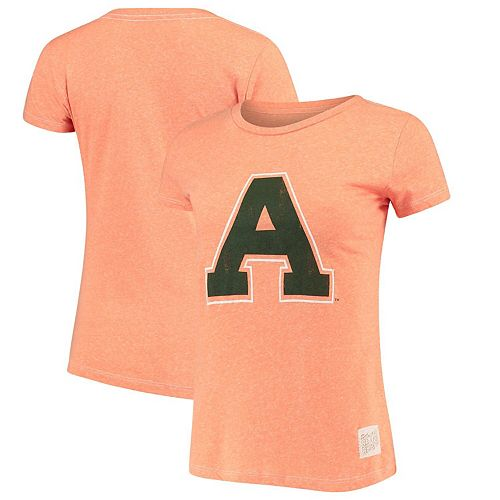 Women's Original Retro Brand Heathered Orange Colorado State Rams Tri-Blend T-Shirt