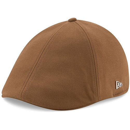 Men's New Era Tan Green Bay Packers Suiting Duckbill Fitted Hat