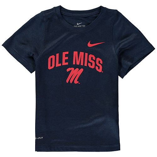 Toddler Nike Navy Ole Miss Rebels Legend Performance T-Shirt