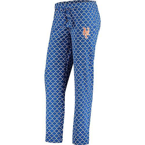 Women's Concepts Sport Royal/White New York Mets Slumber Sleep Pants