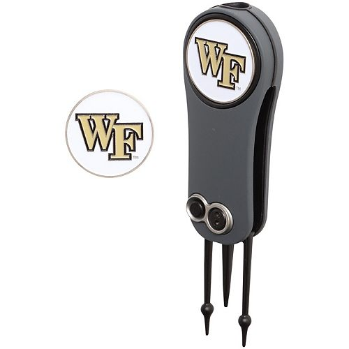 Wake Forest Demon Deacons Switchblade Repair Tool & Two Ball Markers