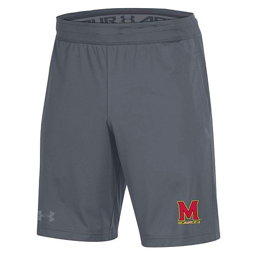 Men's Under Armour Gray Maryland Terrapins MK-1 Shorts