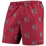 "Men's Columbia Garnet South Carolina Gamecocks PFG Backcast II 6"" Omni-Shade Team Hybrid Shorts"
