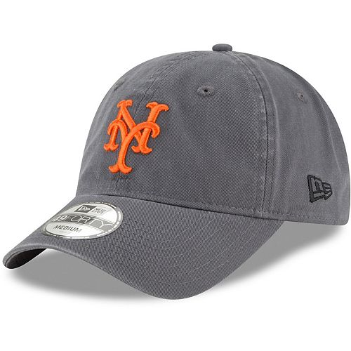 Men's New Era Graphite New York Mets Core 49FORTY Fitted Hat