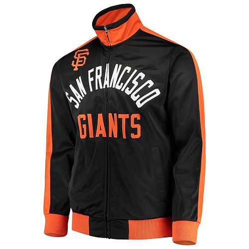 Men's G-III Sports by Carl Banks Black San Francisco Giants Final Four Full-Zip Track Jacket