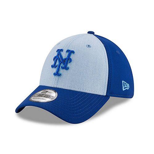 Men's New Era Light Blue New York Mets 2018 Father's Day 39THIRTY Flex Hat
