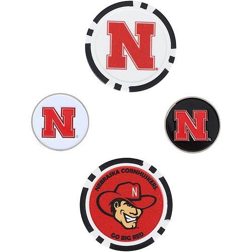 Nebraska Cornhuskers Ball Marker Set