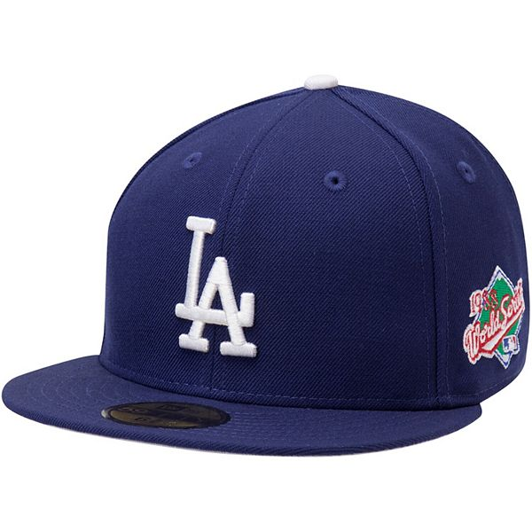 Men S New Era Navy Los Angeles Dodgers 1988 World Series Wool 59fifty Fitted Hat