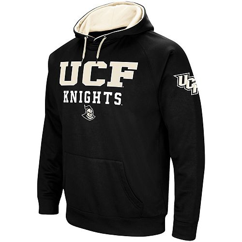 Men's Colosseum Black UCF Knights Performance Pullover Hoodie