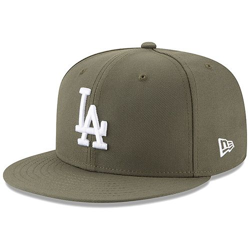Los Angeles Dodgers New Era Fashion Color Basic 59FIFTY Fitted Hat - Green