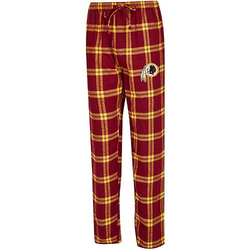 Men's Concepts Sport Burgundy/Gold Washington Redskins Big & Tall Homestretch Flannel Pants