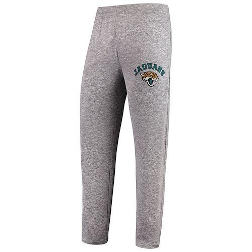 Men's Concepts Sport Heathered Gray Jacksonville Jaguars Layover Marled Knit Tri-Blend Pants