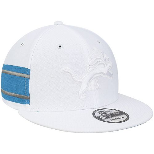 pretty nice 55bed d6780 Men's New Era White Detroit Lions Kickoff Color Rush 9FIFTY ...