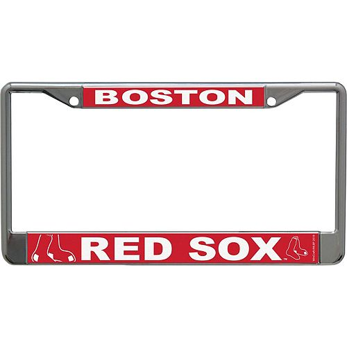 WinCraft Boston Red Sox Acrylic Mega License Plate Frame