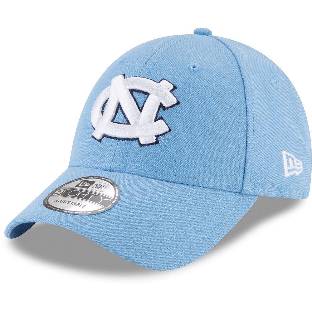 Men's New Era Carolina Blue North Carolina Tar Heels The League 9FORTY Adjustable Hat